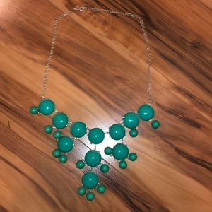 Green bubble necklace